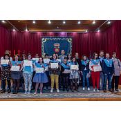 Graduación alumnos con discapacidad