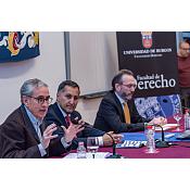 Ramón Jáuregui. Conferencia Facultad Derecho UBU