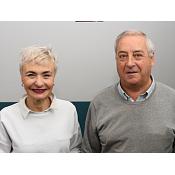 Profesores Ileana María Greca Dufranc y Jesús Meneses