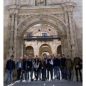 Veinte alemanes estudian finanzas en la UBU