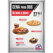 Oferta Cena para 2 Foster's Hollywood