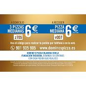 Promoción Domino's Pizza 2018
