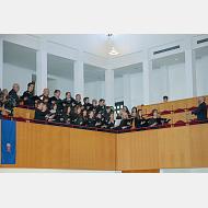 El Coro de la Universidad de Burgos regaló momentos muy especiales para nuestros DHC