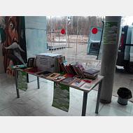 Mesa de donación en Servicios Centrales