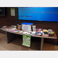 Mesa de donación en Facultad de Ciencias