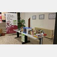 Mesa de donación en Politécnica Superior (Campus Río Vena)