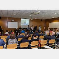 Visita estudiantes sordos sicilianos