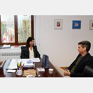"""North Carolina Wilmington University y la Universidad de Burgos estudian establecer un programa """"Study Abroad"""""""