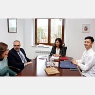 La UBU y el Chinese Institute of International Education tienden puentes