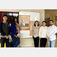 Un grupo de estudiantes del Máster Universitario en Patrimonio y Comunicación se adentran en las grandes epidemias en Burgos