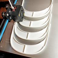 Entrega material sanitario 3D