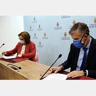 Entrega de cheque UBU a la Fundación Miradas