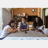 programa de Alojamientos Compartidos. Angelines e Irene
