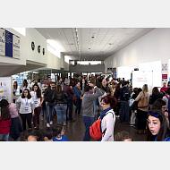 III Feria de Ciencia y Tecnología de Castilla y León. Hall de la EPS
