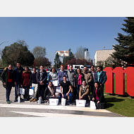2º del Grado en Ingeniería Mecánica han visitado la fábrica Mahou San Miguel