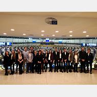 Alumnos viaje a Bruselas
