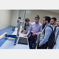 Visita alumnos franceses a la Escuela Politécnica (Milanera) - Diego Herrera Carcedo/UBU