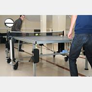 Jugando al tenis de mesa
