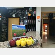 Día de la fruta en la Residencia