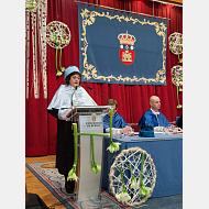 Intervención de la decana de la Facultad de Educación, madrina de los doctores de 2016. Dra. Gloria Diez Abad