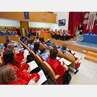 Intervención del rector de la Universidad de Burgos, Dr. Manuel Pérez Mateos