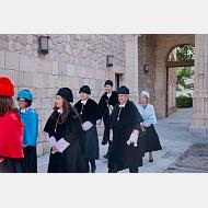 Rectores de las Universidades Públicas y Privadas cerrando la Comitiva Académica