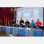 Mesa presidencial del solemne acto de Inauguración del Curso Académico 2017-2018