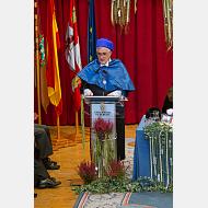 Dr. Jesús Gadea Sáenz, impartiendo la lección inaugural