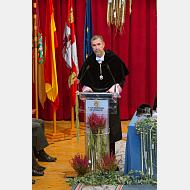 Rector Magnífico de la Universidad de Burgos, Dr. Manuel Pérez Mateos
