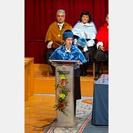 Intervención de la doctora honoris causa por la Universidad de Burgos, doctora Margarita Salas Falgueras