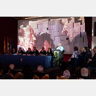 Intervención de la Laudatio del padrino, Dr. Federico Sanz Díaz