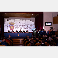 Intervención del Excmo. Sr. D. Juan José Laborda ya doctor honoris causa por la Universidad de Burgos