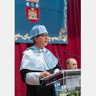 Lección inaugural impartida por el catedrático de Literatura Francesa don Teófilo Sanz Hernández