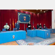 Rector de León, Consejero de la Presidencia, Rector de Burgos, Consejera de Educación, Rector de Valladolid, Rector Isabel I