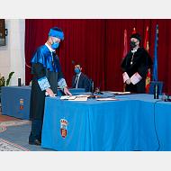 Vicerrector de Investigación, Transferencia e Innovación. Dr. José Miguel García Pérez