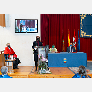 Consejera de Educación de la Junta de Castilla y León, Excma. Sra. Dña. Rocío Lucas Navas