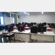 Aula de informatica de Organizacion de empresas