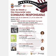 Cartel Cine consumo responsables2016