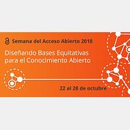 Cartel Semana Acceso Abierto 2018