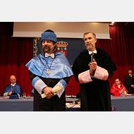 El doctor García Sastre forma ya parte del Claustro de doctores de la Universidad de Burgos