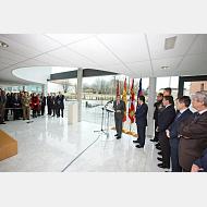 Discursos en la inauguración del Edificio de Administración y Servicios