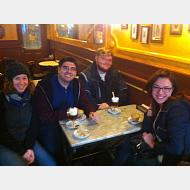 English teachers in café España