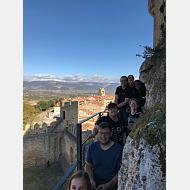 Desde lo alto del castillo