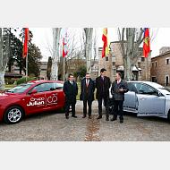 Convenio entre la UBU y Grupo Julián y Alfa Romeo.