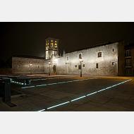 Inauguración de la iluminación del Hospital del Rey
