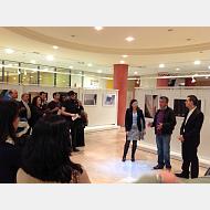 """Inauguración de la exposición """"arquitectura oculta"""" dentro de los actos conmemorativos del 20 aniversario de la UBU"""
