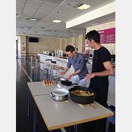 Master Chef en tortilla española