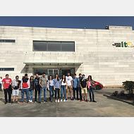 Foto de grupo frente al ITACYL