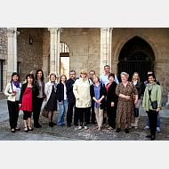 Visita al campus de los representantes de centros educativos que participan en las VIII Jornadas Comerciales de Turismo