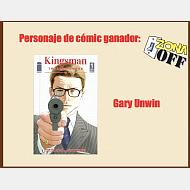 Personaje Gary Unwin cómic Kingsman